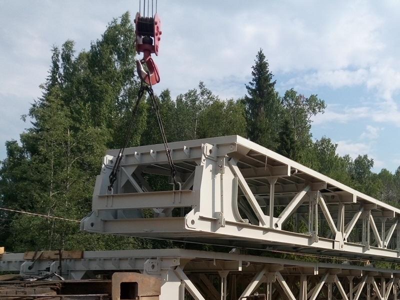 Комплект сборно-разборного автодорожного моста (САРМ)